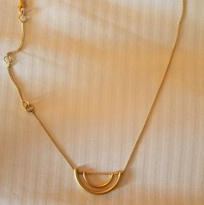 SALE**Madewell Semi-Circle Pendant Necklace